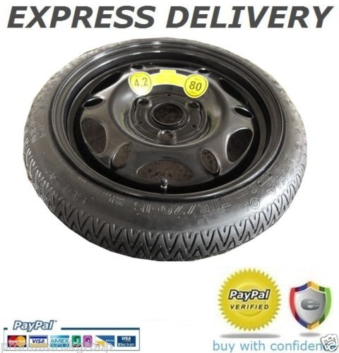 """SMART FORTWO (1998-2014) SPACE SAVER SPARE WHEEL 15""""-0"""