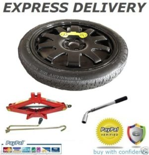 "JAGUAR XF, XF SPORTBRAKE, XJ, XKR, XK, 19"" SPACE SAVER SPARE WHEEL FIT 20"" ALLOYS + TOOL KIT-0"