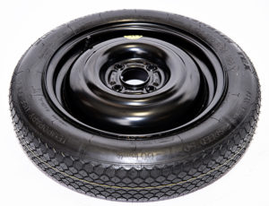 "VOLKSWAGEN UP, SKODA CITIGO, SEAT Mii (2012-PRESENT DAY) 14"" SPACE SAVER SPARE WHEEL-0"