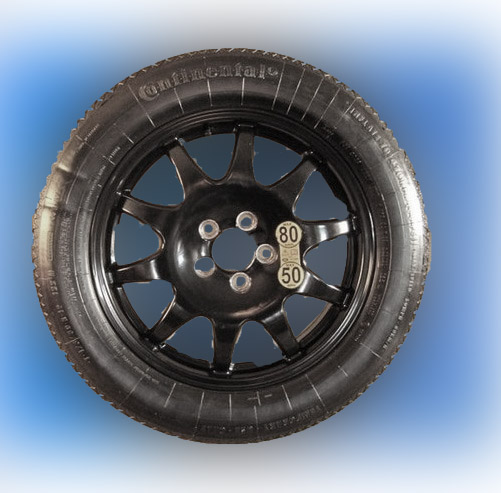 "RANGE ROVER SPORT and DISCOVERY 19"" SPACE SAVER SPARE WHEEL-0"