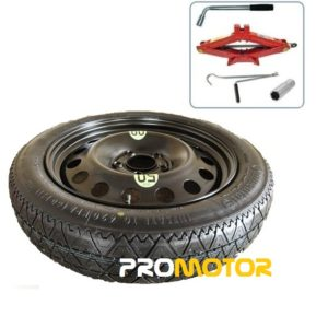 """BMW X1 (2009-2014) SPACE SAVER SPARE WHEEL 17"""" AND TOOL KIT-0"""