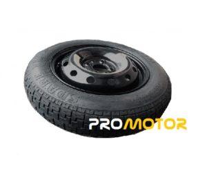 "FIAT 500 (2007-present day) 14"" SPACE SAVER SPARE WHEEL -0"