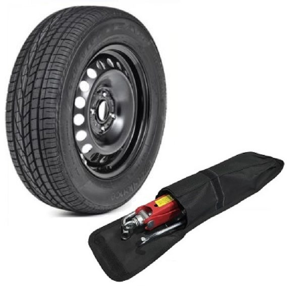 DACIA SANDERO STEPWAY (2008-present day) FULL SIZE SPARE WHEEL (4 studs) AND 205/55 R16 TYRE + TOOL KIT -0