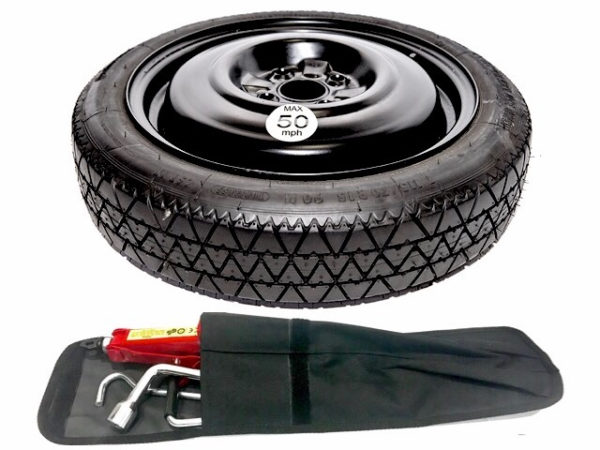 "Ford Fiesta ST180 (2008-present day) 15"" SPACE SAVER SPARE WHEEL + TOOL KIT-0"