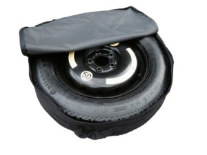"TESLA S (2012-PRESENT DAY) 18"" SPACE SAVER SPARE WHEEL + COVER BAG -0"