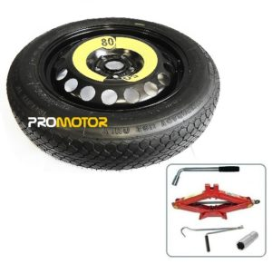 """16"""" SPACE SAVER SPARE WHEEL + TOOL KIT FITS NISSAN LEAF (2011-PRESENT DAY)-0"""