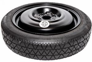 "Vauxhall Combo (2001-2010) 15"" space saver spare wheel (4 stud fitment)-0"