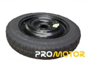 """Peugeot 108 (2014-PRESENT DAY) SPACE SAVER SPARE WHEEL 15"""" -0"""