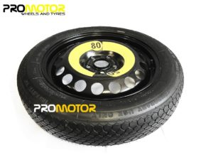 "SKODA ROOMSTER (2006-2015) 15"" SPACE SAVER SPARE WHEEL -0"