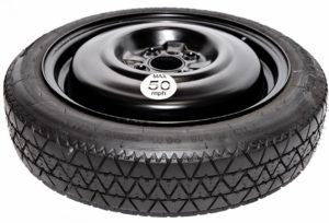 """MAZDA MX-5 (2005-PRESENT DAY) 16"""" SPACE SAVER SPARE WHEEL (4 STUD FITMENT NEW SHAPE)-0"""