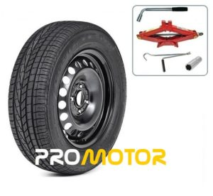 FORD FIESTA 2008-PRESENT DAY FULL SIZE SPARE WHEEL AND TOOL KIT + 195/50R15 TYRE-0