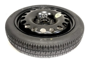 "VOLKSWAGEN POLO 2010-PRESENT DAY 15"" SPACE SAVER SPARE WHEEL-0"