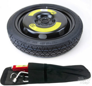 """Audi Q2 (2016-PRESENT DAY) 19"""" SPACE SAVER SPARE WHEEL + TOOL KIT-0"""
