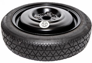 "Renault Clio (2013 - present day) SPACE SAVER SPARE WHEEL 15"" -0"