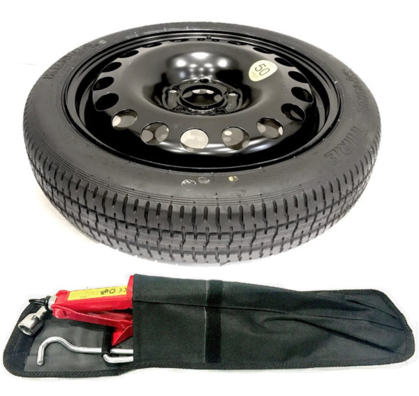 """JEEP CHEROKEE IV 2014-PRESENT DAY 17"""" SPACE SAVER SPARE WHEEL AND TOOL KIT-0"""