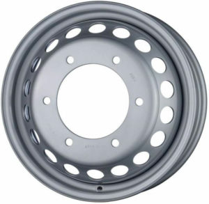 FORD TRANSIT 2014-PRESENT DAY TWIN WHEEL STEEL SPARE RIM-0