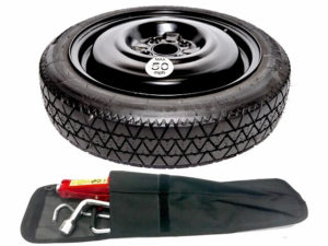 "FORD TRANSIT COURIER 2014-PRESENT DAY 15"" SPACE SAVER SPARE WHEEL + TOOL KIT-0"