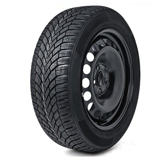 VAUXHALL MOVANO (2010-PRESENT DAY) FULL SIZE STEEL SPARE WHEEL AND 215/65R16C TYRE-0